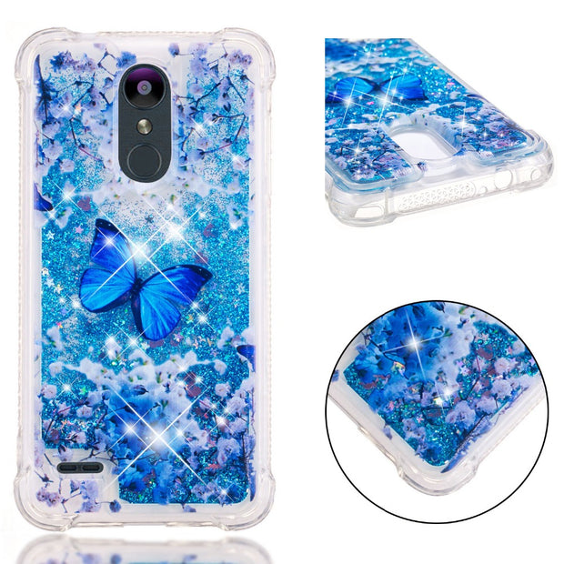 3D Liquid Silicone Case For Coque LG K8 2018 / LG K9 Funda Etui For LG K4 K8 K10 2017 2018 Stylo 4 / LG Q Stylus Case Funda Etui