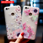3D Relief Case For Xiaomi Redmi 4X 4A 3S 3X 3D Relief Silicone TPU Case For Redmi Note 4 4X 5A Matte Soft Phone Cases Coque Capa