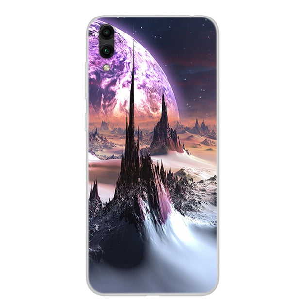6 26'' For Huawei Y7 Prime 2019 Case Silicone Soft TPU Phone