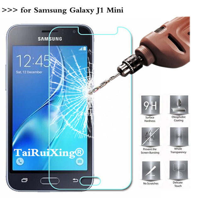 9h 2 5d 0 26 Mm Tempered Glass Screen Protector For Samsung Galaxy J1 Ferrum Cases