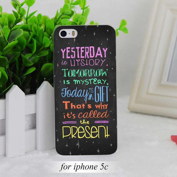iphone se cover frasi