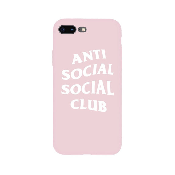 87c262df9521 Previous. ASSC Anti Social Social Club Culture Soft Case For IPhone X ...