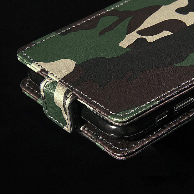ASTUBIA For Blackview A7 Pro Case Camo Couqe For Blackview A7Pro Flip Case Luxury PU Leather Skin Cover Case Capa Shell Fundas