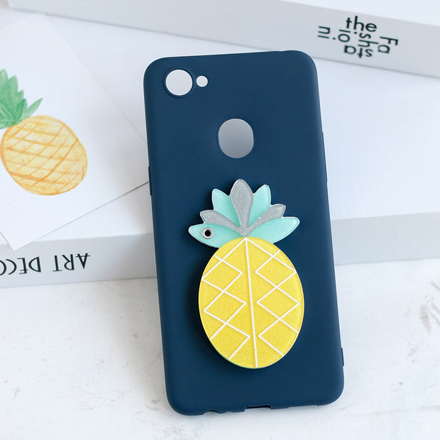 AXBETY Hidden Mirror Cover For Oppo A83 F5 Lite A79 A73 A71