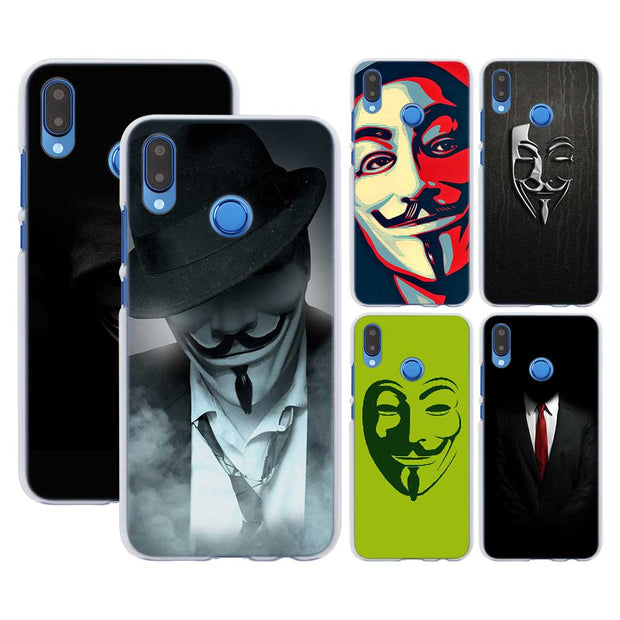 coque huawei p8 lite anonymous