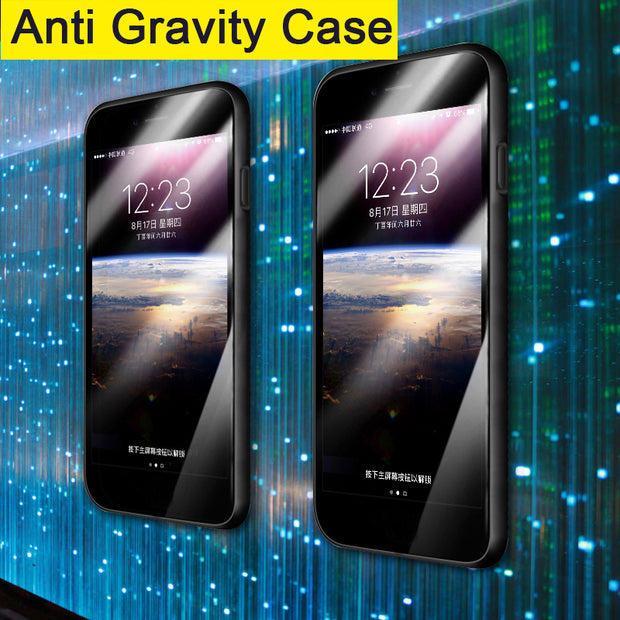 Anti Gravity Case For OPPO F1S A59 A83 A1 A3 A5 Magical Nano Suction Cover Frame Adsorbed Case For OPPO Find X F5 F7 A79 A57 A39