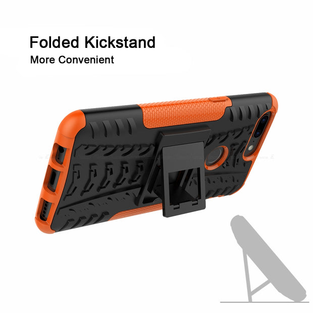 Armor Hybrid Cover For OnePlus Five Six One Plus 3 3T 5 5T 6 6T Hard Plastic Soft TPU Case Rugged Shockproof Kickstand