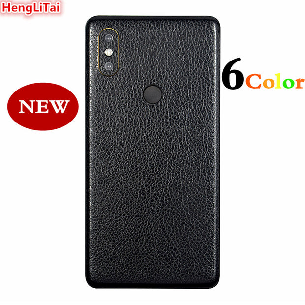 BEST Leather Skins Protective Film Wrap Skin Cellphone Back Paste Protective Film Sticker For Xiaomi Mi Mix2s