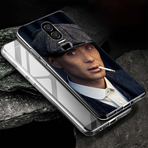BINYEAE Peaky Blinders Style Silicone TPU Ultra Thin Clear Soft Phone Case For Oneplus 6 5T Cover Coque