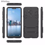 BYHeYang Cover For LG G7 Case 6.1 Inch Slim Robot Armor Rubber Capa For Phone Case LG G7 ThinQ Cases For LG G7 2018 G710 Fundas