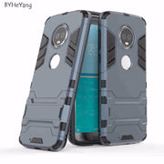 "BYHeYang For Moto G6 Plus Case 5.93"" Soft Silicone Plastic Kickstand Back Case For Moto G6 Plus Cover For Motorola Moto G6+ Capa"