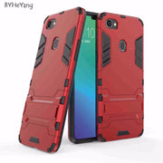 BYHeYang For OPPO F7 Case OPPO F 7 Cover 6.23 Inch Slim Robot Armor Rubber Capa For Phone Case OPPO F7 2018 Cases OPPO F7 Fundas