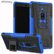 BYHeYang For Sony Xperia XZ2 Premium Case 5.8inch Tough Rugged Hybrid Heavy Duty Armor Cover For Sony Xperia XZ2 Premium Fundas