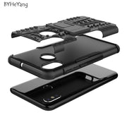 BYHeYang For Xiaomi Mi 8 Case Xiaomi Mi8 Coque Tough Impact Phone Case Heavy Duty Armor Hybrid Back Cover For Xiaomi Mi 8 Fundas