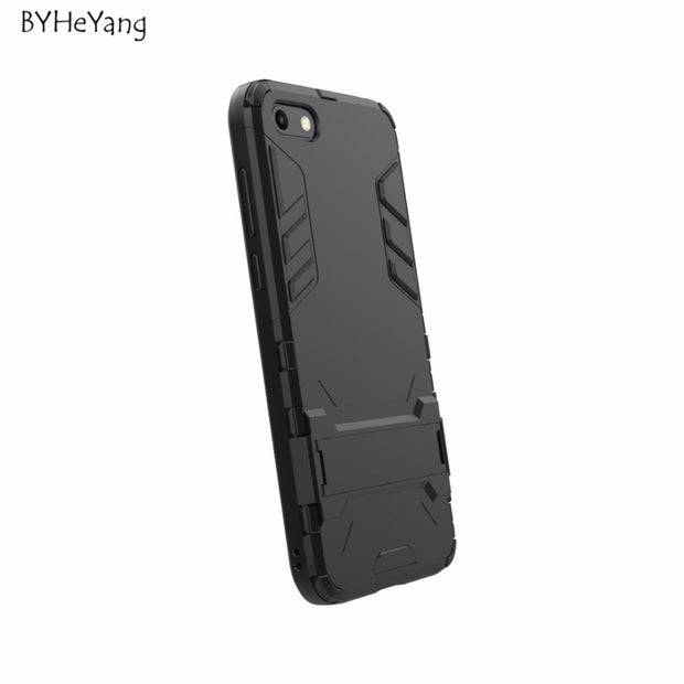 BYHeYang For Huawei Y5 2018 Cover Coque Shockproof Back Soft TPU Hybrid Hard Plastic Case For Huawei Y5 Prime 2018 Phone Cover