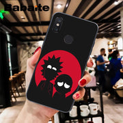 Babaite Cartoon Comic Meme Rick And Morty DIY Printing Phone Case For Xiaomi Mi 6 Mix2 2S Note3 8 8SE Redmi 5 5Plus Note4 4X 5