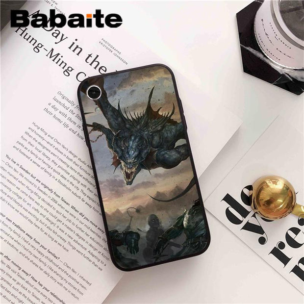 Babaite Dota 2 Coque Shell Phone Accessories Case For IPhone X XS MAX 6 6s 7 7plus 8 8Plus 5 5S SE XR Fundas Capa