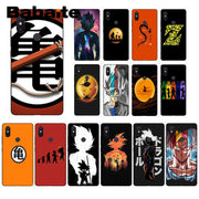 Babaite Dragon Ball Black TPU Soft Silicone Phone Case Cover For Xiaomi Mi 6 Mix2 Mix2S Note3 8 8SE Redmi 5 5Plus Note4 4X Note5