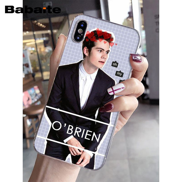 Babaite Dylan O'Brien Teen Wolf TPU Soft Silicone Phone Case For Apple IPhone 8 7 6 6S Plus X XS MAX 5 5S SE XR Mobile Cases