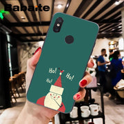 Babaite Merry Christmas Elk Novelty Fundas Phone Case Cover For Xiaomi Mi 6 Mix2 Mix2S Note3 8 8SE Redmi 5 5Plus Note4 4X Note5