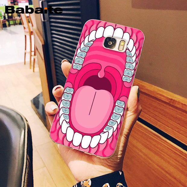 Babaite Nurse Doctor Dentist Stethoscope Tooth Phone Case For Samsung S6edge S6 Edge Plus S7 Edge S7 S8 S9 Mobile Cover