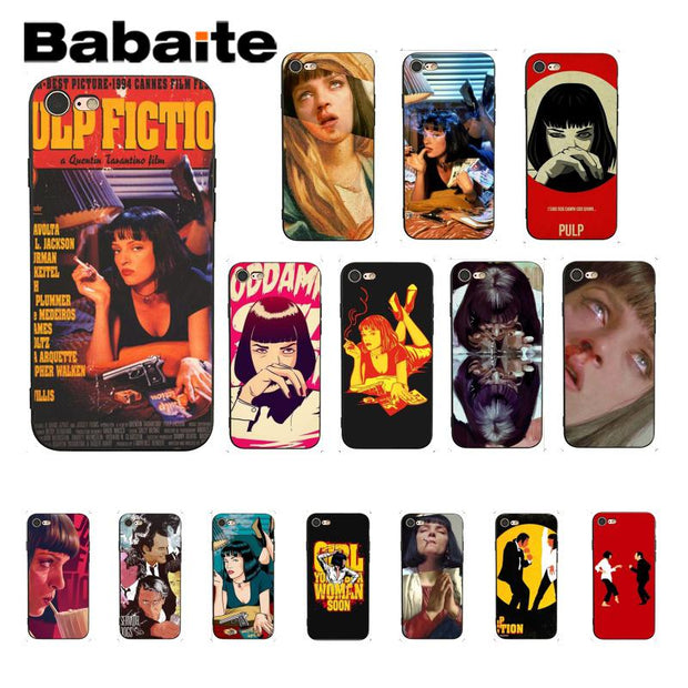 pulp fiction iphone 7 case