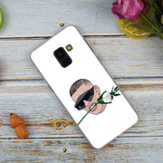 Bad Bunny Maluma Ozuna Fashion Transparent Case For Samsung Galaxy A3 A5 A9 A7 A6 A8 Plus 2018 2017 2016 Star A6S Note 9 8 Cover