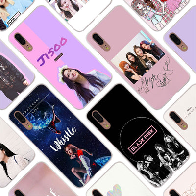 Binful Blackpink Black Pink Lisa Rose Cover Case For Huawei P30 P20 Mate20 Pro P8 P9 P10 Mate10 Lite Mini 2017 Plus P Smart Hot
