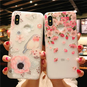 Bird Patterned Case For Xiaomi Mi 6 8 5X 6X A1 MIX2 Cover Soft Silicone Relief Cases For Xiaomi Redmi Note 5 5A Pro 4X Capa