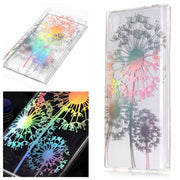 Bling Plating TPU Soft Case For Sony Xperia L2 Cartoon Unicorn Case For Sony Xperia L1 G3311 Case Flower Clear Mandala Cover