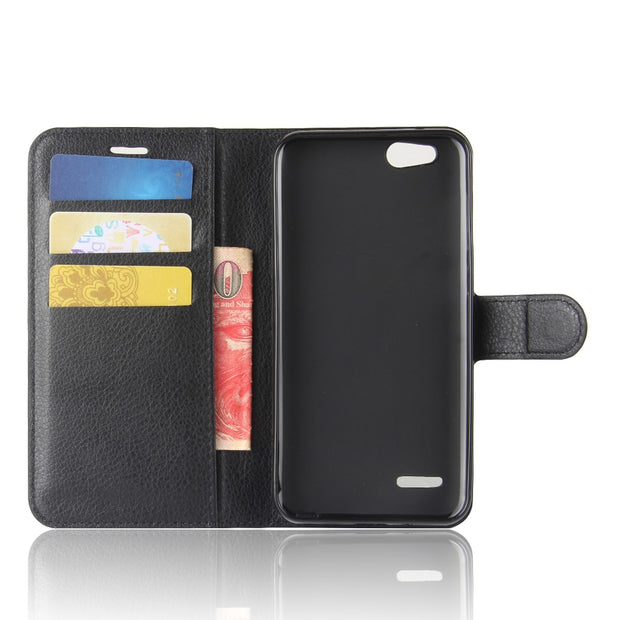 Book Style PU Leather Case Cover For ZTE BladeTempo X N9137 Flip Wallet Phone Bags Cases With Stand For