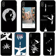 Brand BTS RM Mono 2018 Mixtape Black Version Back Cover Silicone Phone Cases For IPhone X XS MAX XR 5 5s SE 6 6SPlus 7 8 Plus X
