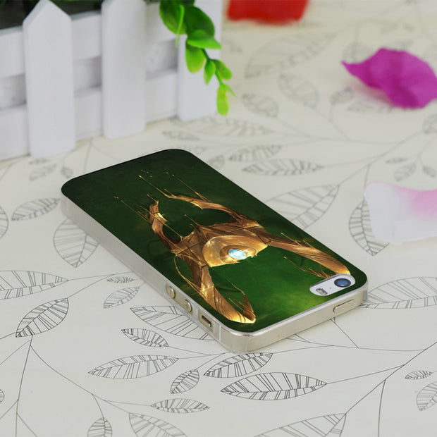 C0298 Loki S Helmet Transparent Hard Thin Case Skin Cover For Apple IPhone 4 4S 4G 5 5G 5S SE 5C 6 6S Plus