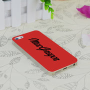 C0366 Macgregor Transparent Hard Thin Case Skin Cover For Apple IPhone 4 4S 4G 5 5G 5S SE 5C 6 6S Plus