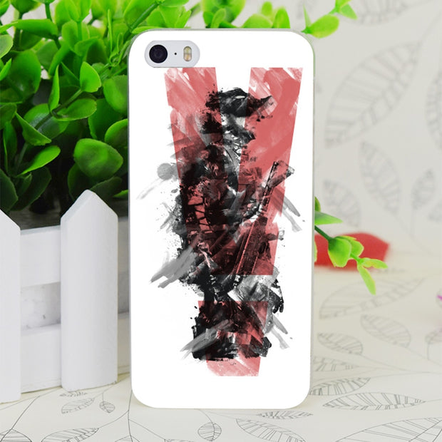C0475 Metal Gear Solid Transparent Hard Thin Case Skin Cover For Apple IPhone 4 4S 4G 5 5G 5S SE 5C 6 6S Plus