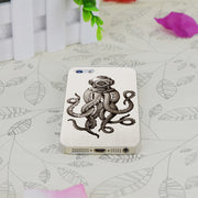C0785 Octopus The Diver Transparent Hard Thin Case Skin Cover For Apple IPhone 4 4S 4G 5 5G 5S SE 5C 6 6S Plus