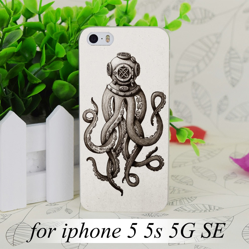cover iphone 5s octopus