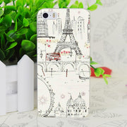 C0897 Paris Love London Transparent Hard Thin Case Skin Cover For Apple IPhone 4 4S 4G 5 5G 5S SE 5C 6 6S Plus