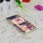 C0956 Piaggio Vespa Scooter Road Transparent Hard Thin Case Skin Cover For Apple IPhone 4 4S 4G 5 5G 5S SE 5C 6 6S Plus