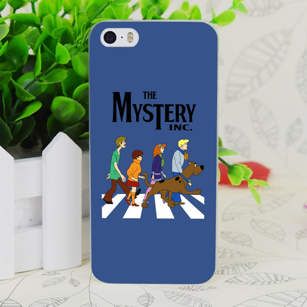 C1328 Scooby Doo Abbey Road Transparent Hard Thin Case Skin Cover For Apple IPhone 4 4S 4G 5 5G 5S SE 5C 6 6S Plus