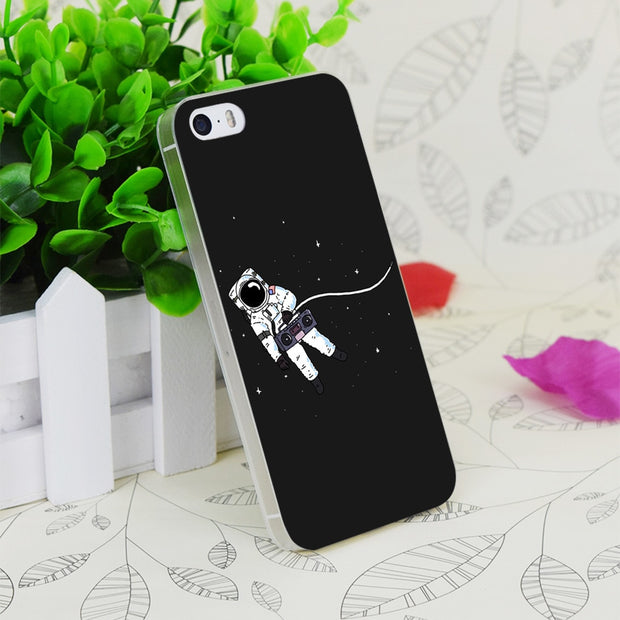 C1525 Space Jams Transparent Hard Thin Case Skin Cover For Apple IPhone 4 4S 4G 5 5G 5S SE 5C 6 6S Plus