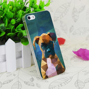 C1836 The Boxer Dog Portrait Transparent Hard Thin Case Skin Cover For Apple IPhone 4 4S 4G 5 5G 5S SE 5C 6 6S Plus
