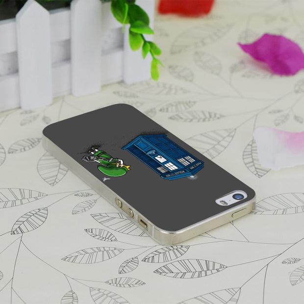 C1960 The Ocarina Of Time Travel Transparent Hard Thin Case Skin Cover For Apple IPhone 4 4S 4G 5 5G 5S SE 5C 6 6S Plus