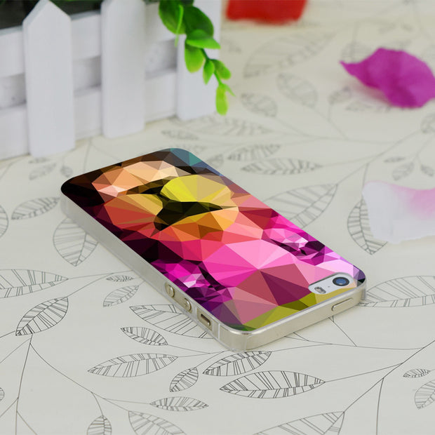 C2367 Wild Neon Transparent Hard Thin Case Skin Cover For Apple IPhone 4 4S 4G 5 5G 5S SE 5C 6 6S Plus