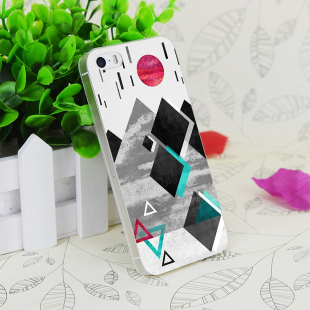 C2651 Anti Gravity Transparent Hard Thin Case Skin Cover For Apple IPhone 4 4S 4G 5 5G 5S SE 5C 6 6S Plus