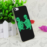 C2713 Ayy Lmao Transparent Hard Thin Case Skin Cover For Apple IPhone 4 4S 4G 5 5G 5S SE 5C 6 6S Plus