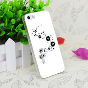 C3819 Flying Susuwatari Transparent Hard Thin Case Skin Cover For Apple IPhone 4 4S 4G 5 5G 5S SE 5C 6 6S Plus