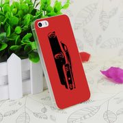 C3827 Ford Mustang Rear Transparent Hard Thin Case Skin Cover For Apple IPhone 4 4S 4G 5 5G 5S SE 5C 6 6S Plus