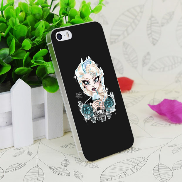 C3891 Frozen Mmmm Transparent Hard Thin Case Skin Cover For Apple IPhone 4 4S 4G 5 5G 5S SE 5C 6 6S Plus