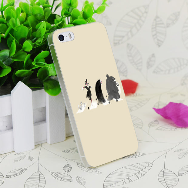 C3972 Ghibli Road Transparent Hard Thin Case Skin Cover For Apple IPhone 4 4S 4G 5 5G 5S SE 5C 6 6S Plus